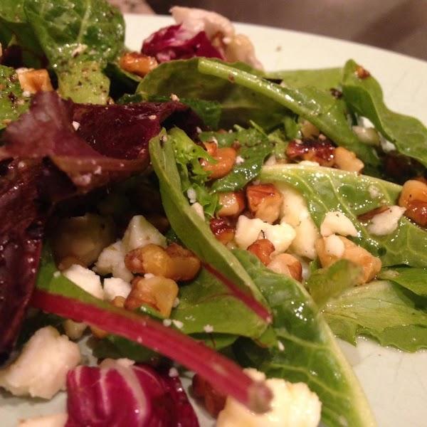 Versatile Salad With Maple Dressing Recipe