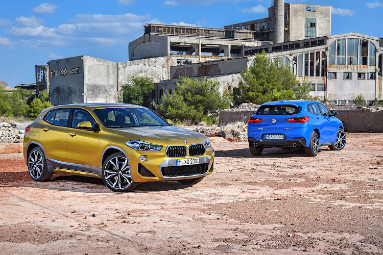 BMW is chasing the trendy set with its new X2 crossover