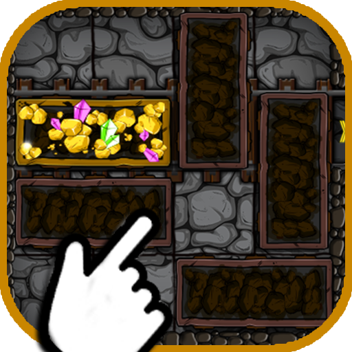 Miner Chest Block: Rescue the treasure
