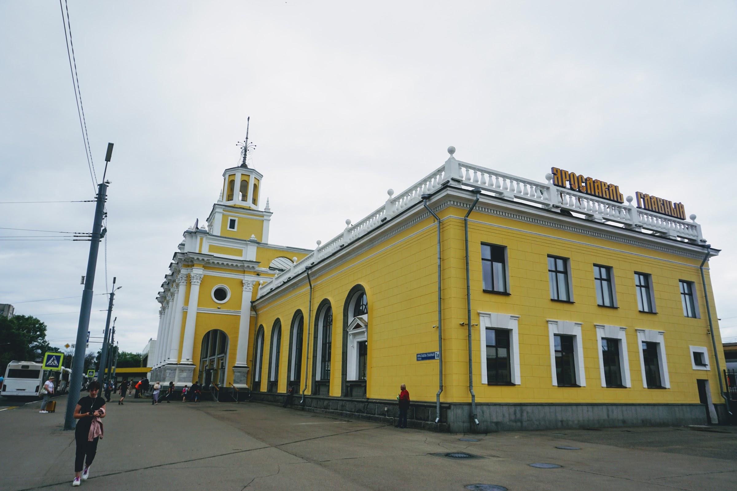 Ретро-поезд по Золотому Кольцу - Ярославль