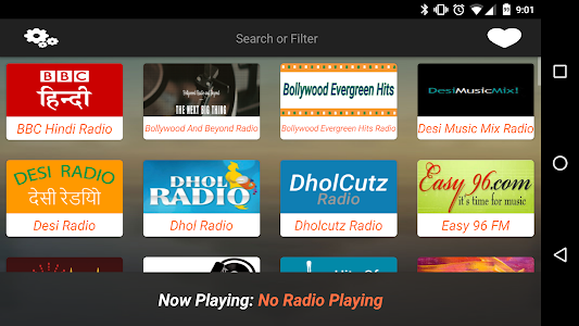 Online Indian Radio screenshot 1