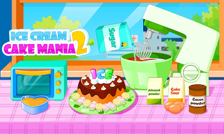 Cooking Ice cream cake mania 2.0.2 screenshot 683155