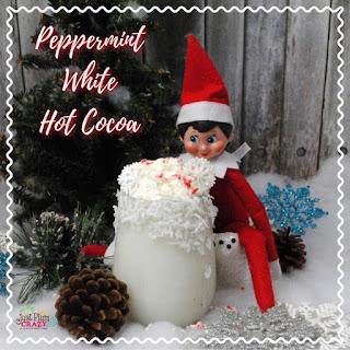 Elf on the Shelf Peppermint White Hot Cocoa Recipe