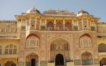 Photo: Der bewohnte Teil des Stadtpalastes von Jaipur