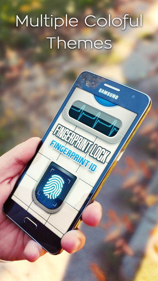Fingerprint Lock Screen Prank- screenshot