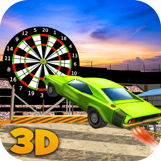 Crash Demolition Racing: Darts