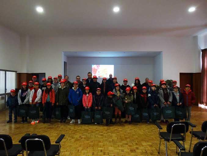 Bombeiros Voluntários de Lamego dão arranque à Escola de Infantes e Cadetes