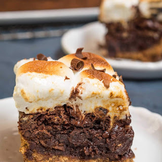 Thick Fudgy S'mores