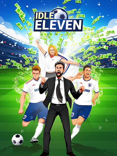 Idle Eleven - Be a millionaire soccer tycoon apkpoly screenshots 7