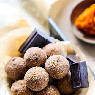 Orange Dark Chocolate Bites (Vegan, Gluten free).
