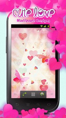 Cute Live Wallpaper Designs - screenshot