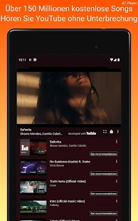 Kostenloser Musik Downloader; YouTube spieler Screenshot