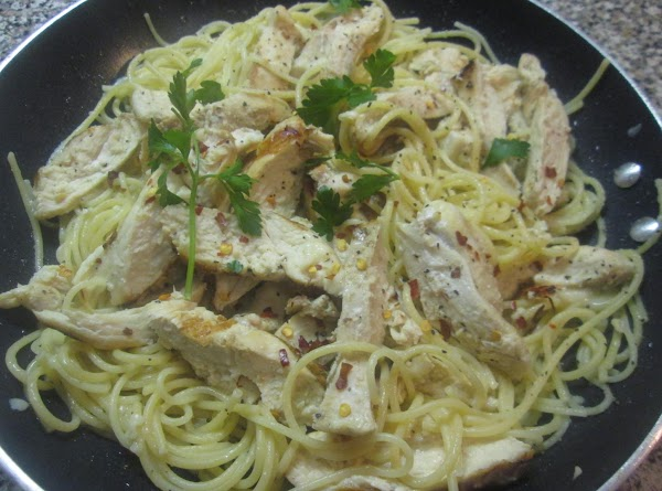 Grilled Chicken Breast W/ Buttered/parmesan Pasta Recipe