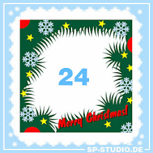 Photo: www.sp-studio.de Christmas Special, day 24: A border for your own SP-Studio Christmas cards.