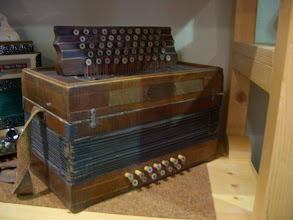 Photo: Novak Harmoika built somewhere between 1890 and 1910. This instrument is made in the Vienna tradition of that time.