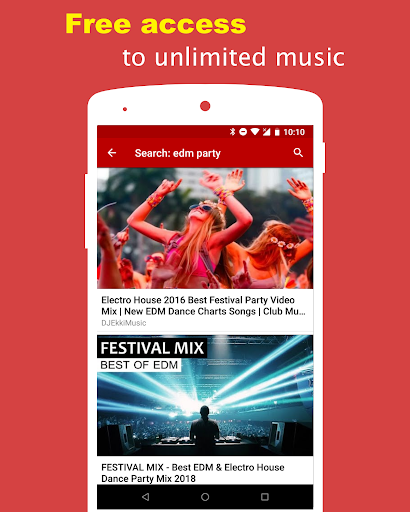 Music Tube, Free and Floating Window for Youtube 1.5.0 screenshots 3