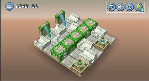 Flow Water Fountain 3D Puzzle Screenshots 19