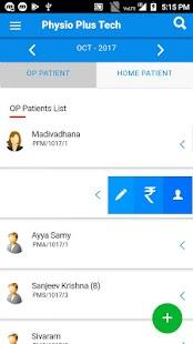 Physio Test App - náhled
