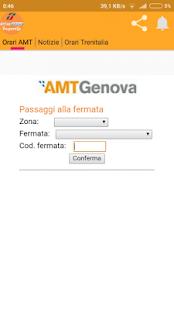 AMT/Trenitalia - TrasportiGe - náhled
