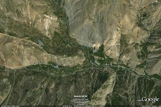 Photo: YEDİGÖL - GAHMUT, HALUNUS, KALGUNS (5840 m. yüksekten)