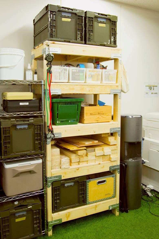 シンプソン金具と2×4材(ツーバイフォー材)で棚を自作DIY