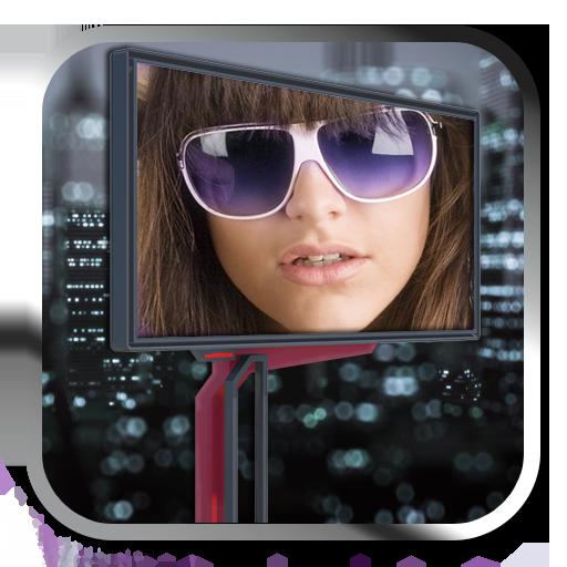 廣告牌相框 攝影 App LOGO-硬是要APP
