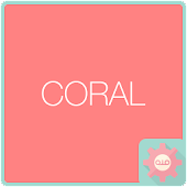 Colorful Talk - Coral 카카오톡 테마