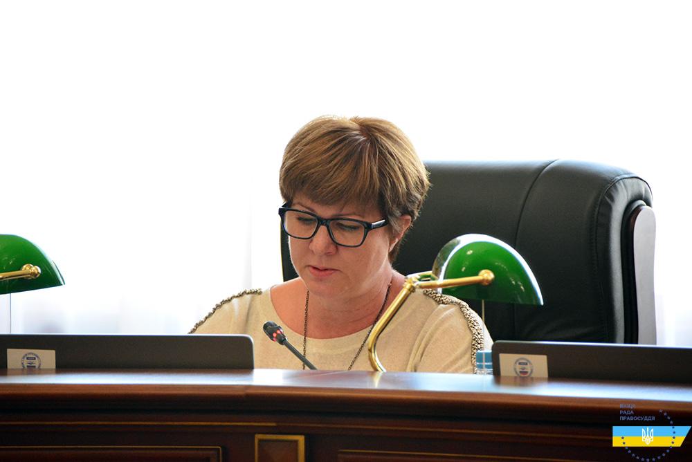 Ирина Мамонтова, экс-председатель Оболонского райсуда г. Киева. Фото: vru.gov.ua