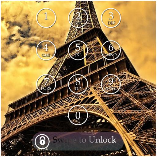 Paris Lock Screen Passcode