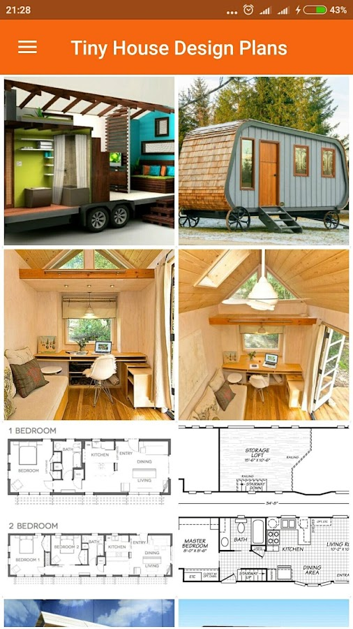 Tiny House Design Plans - Android Apps On Google Play