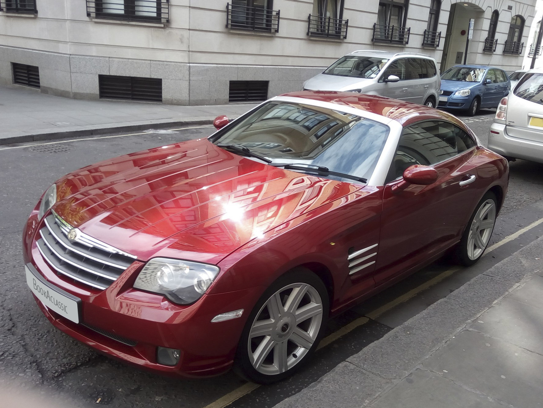 Chrysler Crossfire Hire Herts