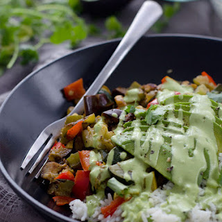Vegetable Fajita Bowls