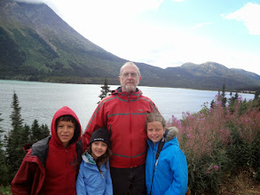 Photo: Then we took a bus tour to see more of the Yukon
