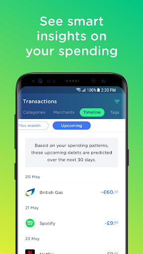 Yolt – The Smart Money Manager - screenshot