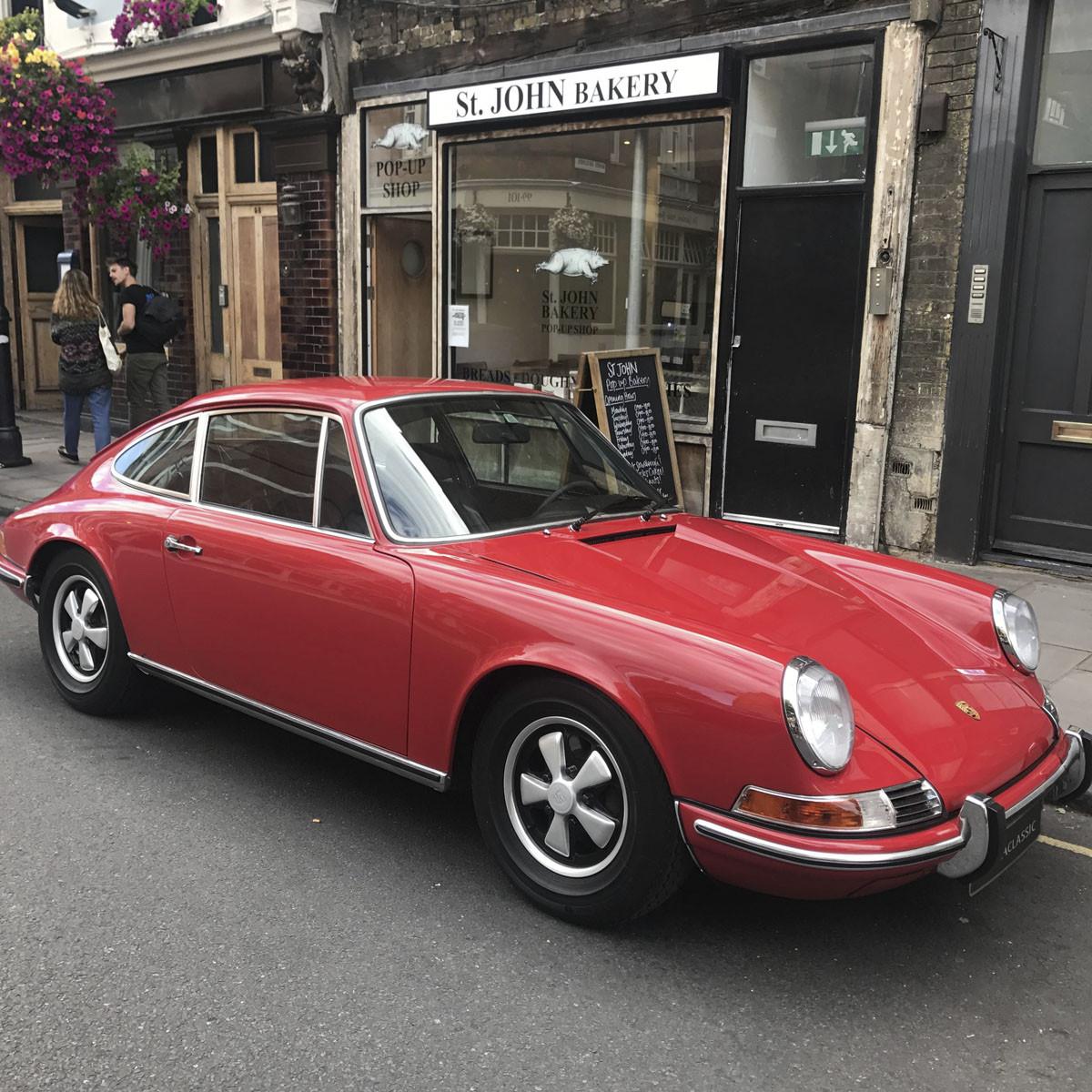 Porsche 911 Hire London