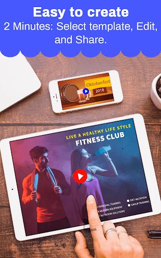 Marketing Video, Promo Video & Slideshow Maker 28.0 screenshots 19