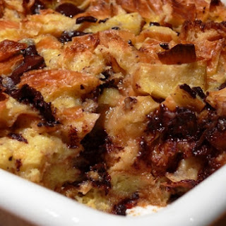 Croissant Bread Pudding Vanilla Recipes