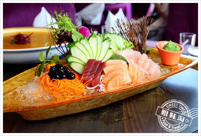 河邊海鮮餐廳-生猛鮪魚刺身拼盤