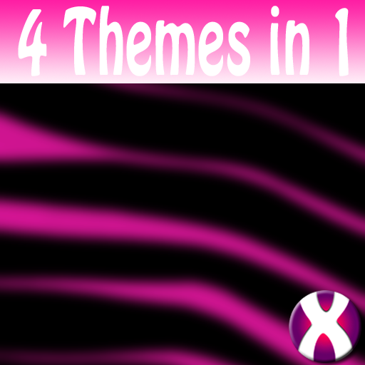 Pink Zebra Complete 4 Themes