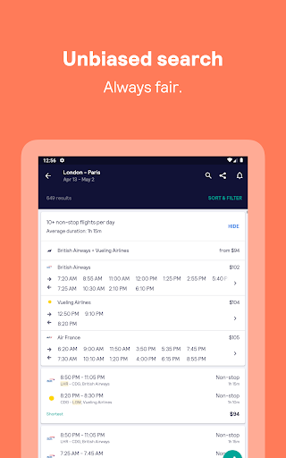 Skyscanner – cheap flights, hotels and car rental screenshot 19