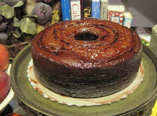 Chocolate Raspberry Pound Cake With Raspberry Glaze By Rr Recipe