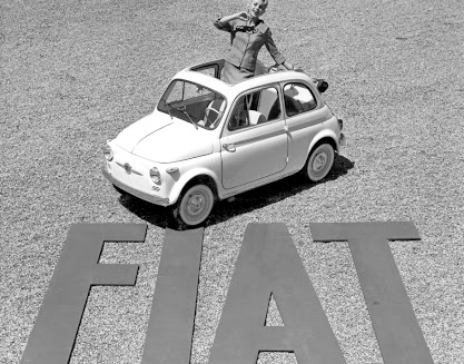It is 60 years since the arrival of the first-generation Fiat 500.    Picture: NEWSPRESS UK
