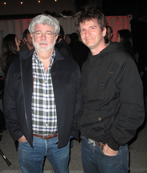 Photo: George Lucas and me!