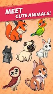 Merge Cute Animals: Cat & Dog 3