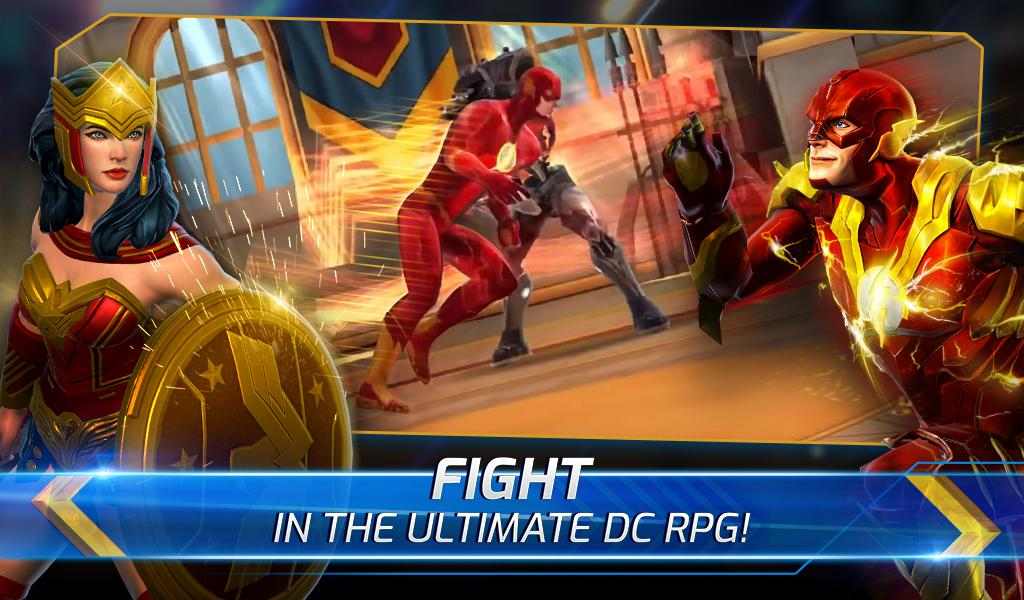 DC Legends: Battle for Justice Android App Screenshot