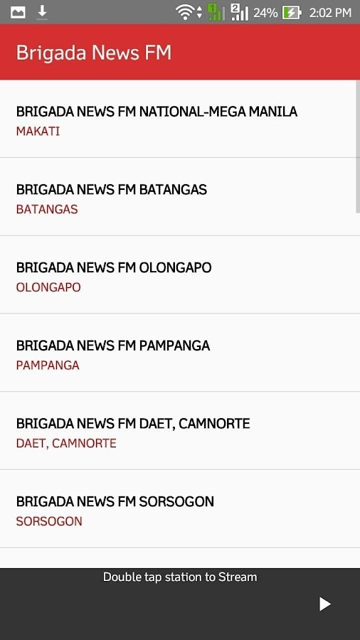 Brigada App- screenshot