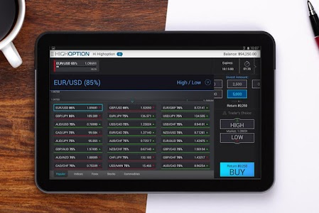 HighOption - Binary Options screenshot 4