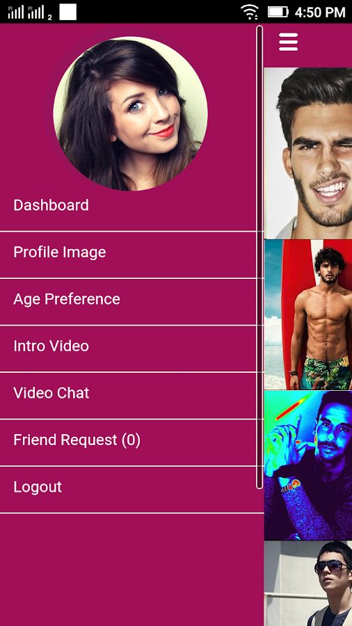 SWOOP Live Video Dating- screenshot