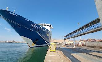Un crucero con 400 turistas británicos en Almería