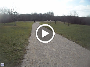 Video: Here comes the Turnbaugh father and son team, a 76 year old Gentlemen running all the way home. The Ladies enjoying a brisk run this morning and checking up on life's journey